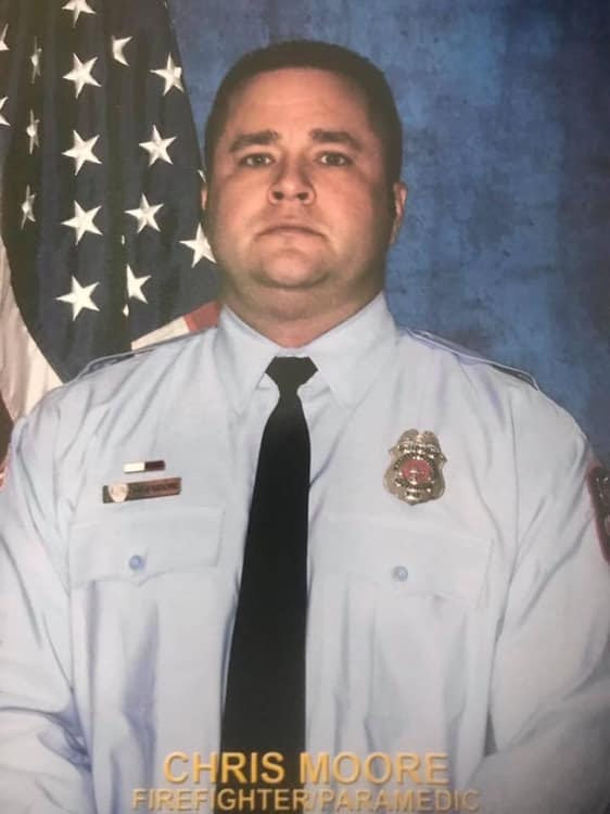 Firefighter Paramedic Chris Moore