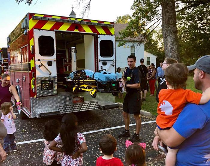Ambulance/EMS services demonstration